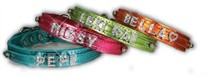 3/4 inch Slider Dog Collars