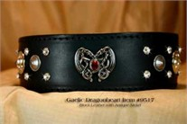 Gaelic Dragonheart  Black Collar