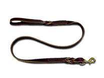 Latigo Leather Twist Leads