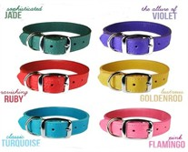 Luxe Leather Collars size Medium