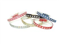 Rhinestone Dog Collars  5/16 inch wide