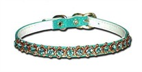 Rhinestone Dog Collar 1/4 Inch Wide
