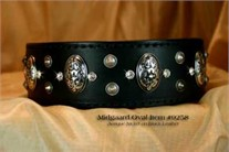 Midgaard Leather Dog Collar