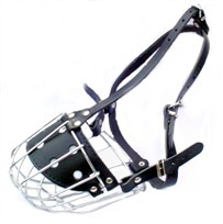 Wire Basket Dog Muzzle For Rottweilers