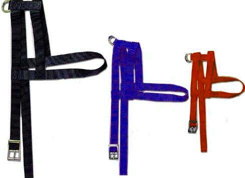 Nylon H Style Harness 5/8 inch Wide