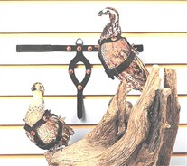 Pigeon and Quail Restraint Harnesses